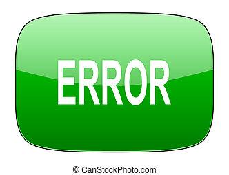 error green icon
