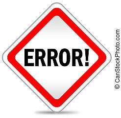 Error icon illustration