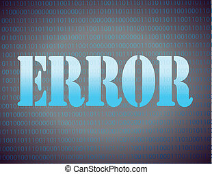 error message binary