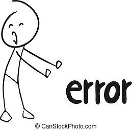 error, ninguna expresión
