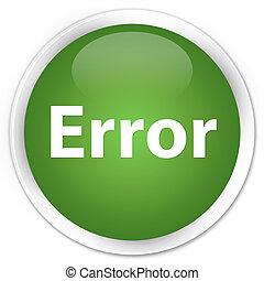 Error premium soft green round button