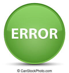 Error special soft green round button