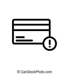error thin line icon