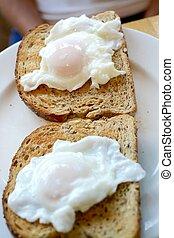 erschlichen, eier