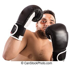 erschrocken, boxer