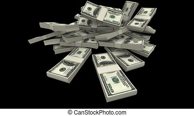 esés, dollárok, konzervál, -, usd usd, (matte)