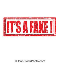 es ist, fake-stamp