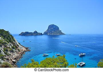 Es Vedra mystery island of Ibiza