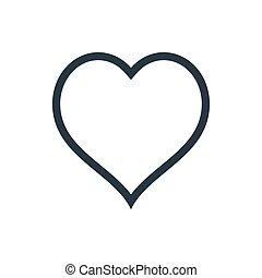 esboço coração