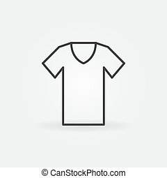 esboço, símbolo, t-shirt, tshirt, vetorial, icon.