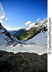 escénico, montana, valle