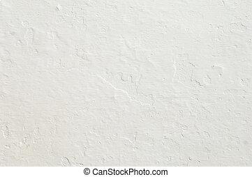 escabroso, pared blanca