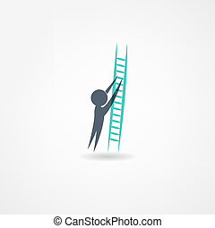 escada, ícone