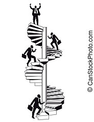 escada carreira