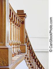 escadaria, histórico, biblioteca