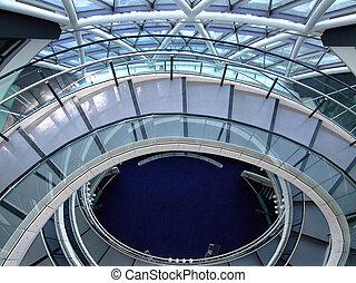 escadas, circular