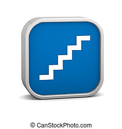escadas, sinal