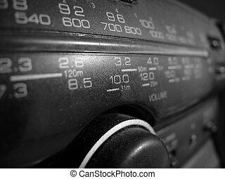 escala, de, el, radio