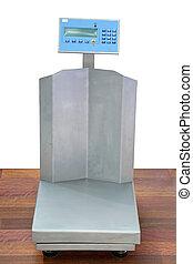 escala que pesa, comercial