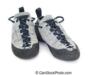 escalade, chaussures