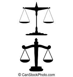 escalas, justiça