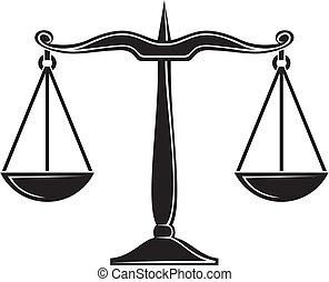 escalas justiça