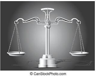escalas, justicia