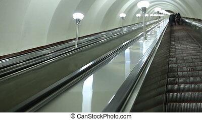 escalator, déplacer haut