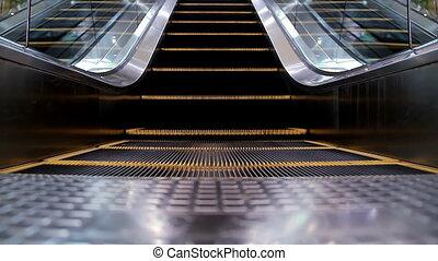 Escalator loop