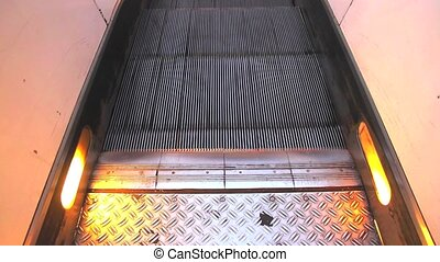 Escalator - Photo of a modern escalator.
