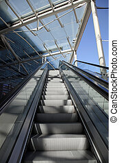 escalator rolling stairs