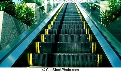 Escalator.