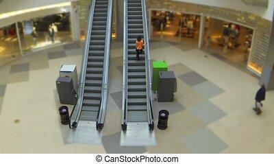 escalator time lapse