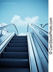 escalator to the sky