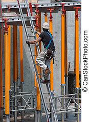 escalera, construcción