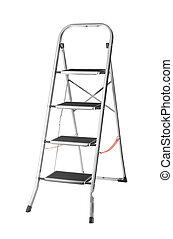 escalera, metal