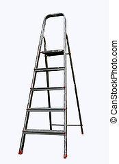 escalera, paso