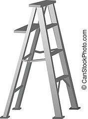 escalera, vector