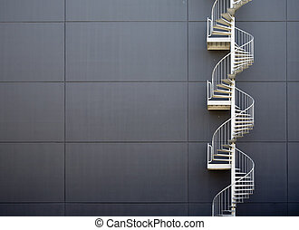 escaleras, emergencia