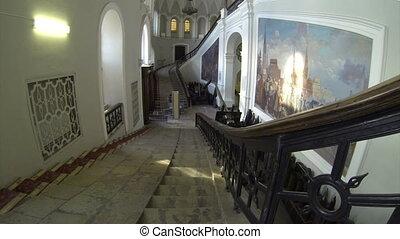escalier, grandiose