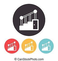 escalier, icône