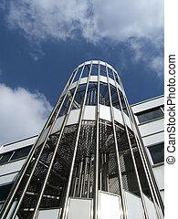 escalier, métallique