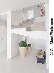escalier, vue