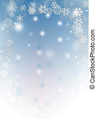 escamas, nieve