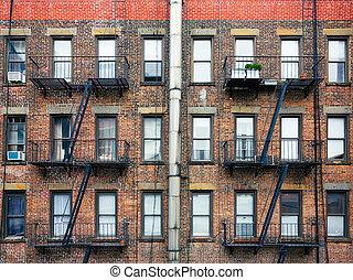 Escape fire ladders
