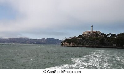 Escape from Alcatraz - Alcatraz island prison of San...