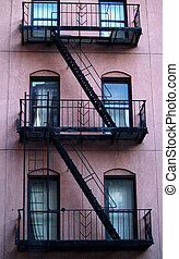 Escape ladder - New York Building