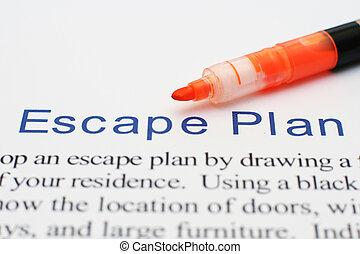 escape, plan