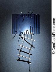 escape, prisión
