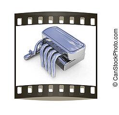 escape, system., el, filme